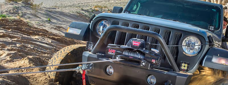 Recovery with Warn Winch